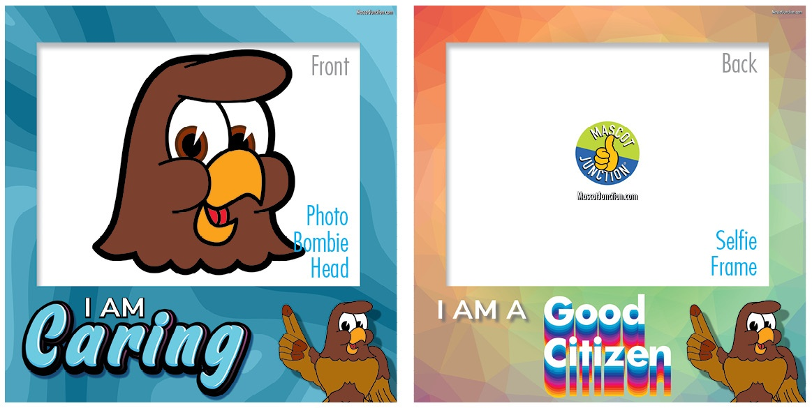 Selfie Frames_Character_Falcon1-Brown4
