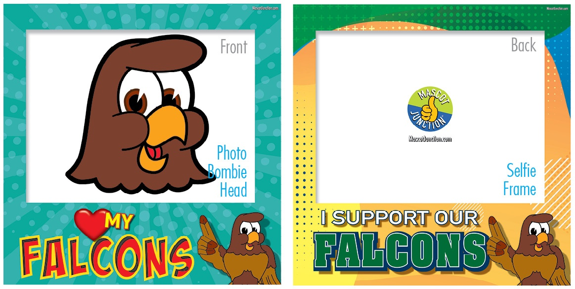 Selfie Frames_Character_Falcon1-Brown5