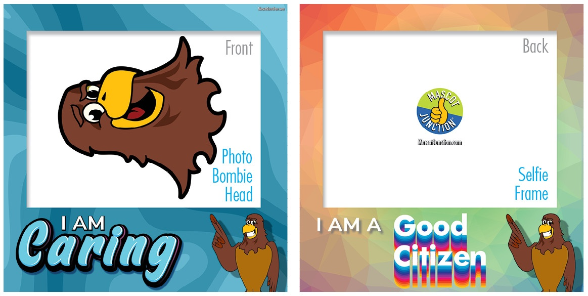 Selfie Frames_Character_Falcon3-Brown4