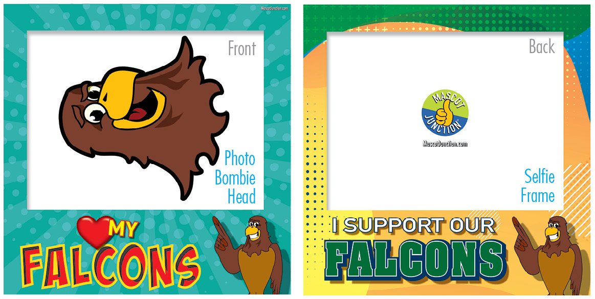 Selfie Frames_Character_Falcon3-Brown5