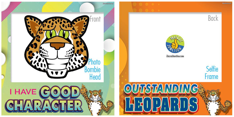 Selfie Frames_Character_Leopard