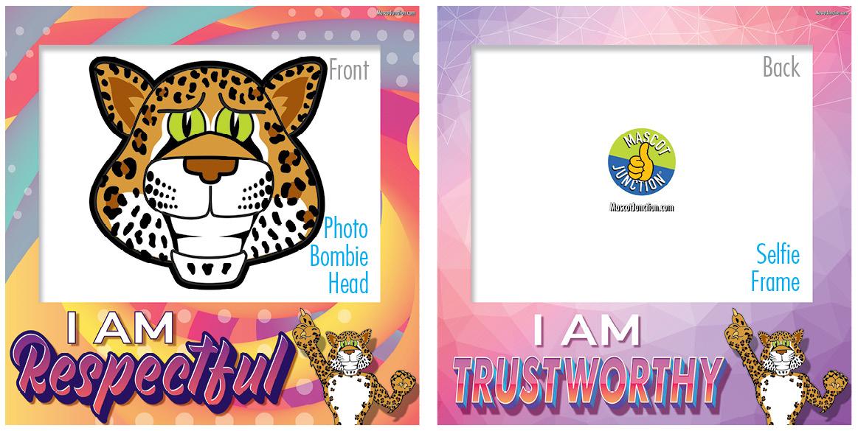 Selfie Frames_Character_Leopard2