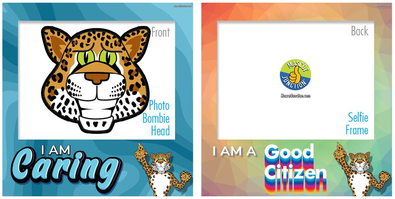 Selfie Frames_Character_Leopard4