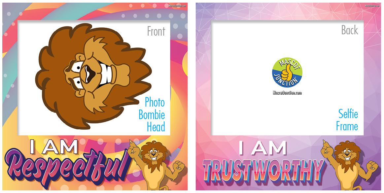 Selfie Frames_Character_Lion2