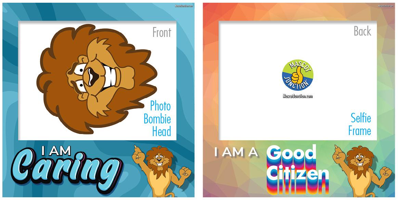 Selfie Frames_Character_Lion4