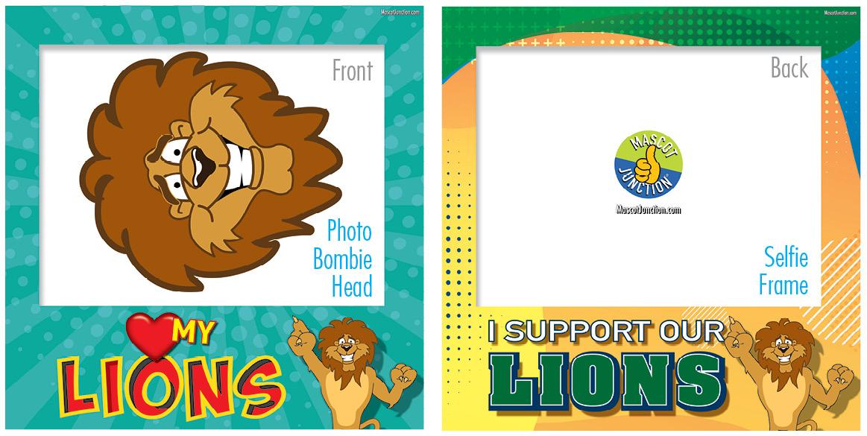 Selfie Frames_Character_Lion5