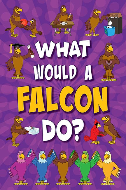 What Would A Flacon Do? Poster