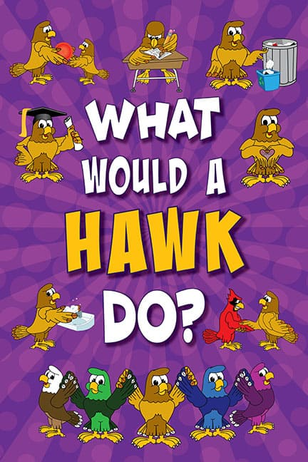 What Would A Hawk Do? Poster