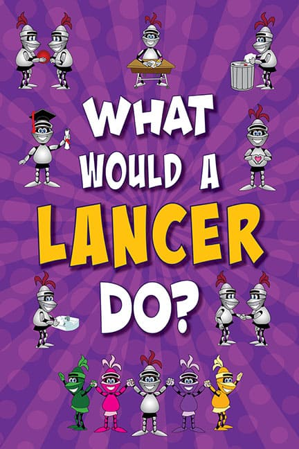 What Would A Lancer Do? Poster