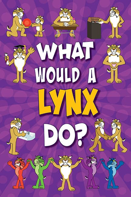 What Would A Lynx Do? Poster