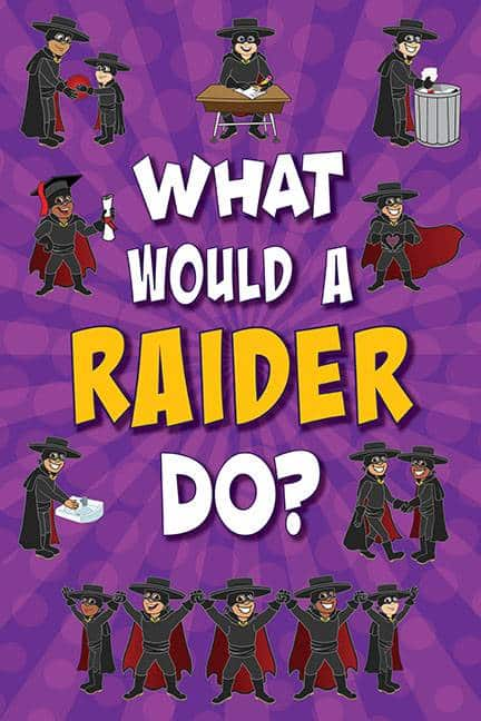 What Would A Raider Do? Poster