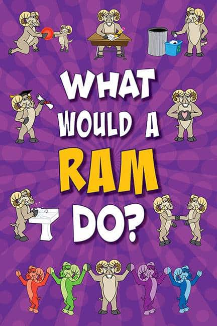 What Would A Ram Do? Poster