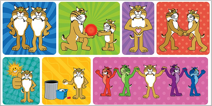 Positive Poses Stickers