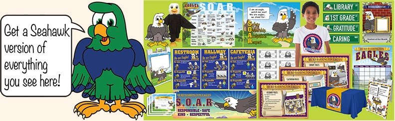 Seahawk Mascot