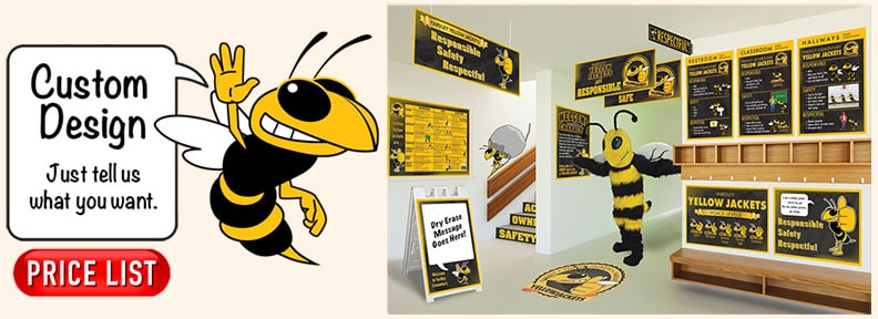 Yellow Jacket Mascot