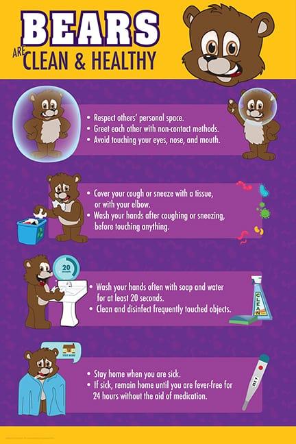 Bear-Cub-Brown-Clean and Healthy