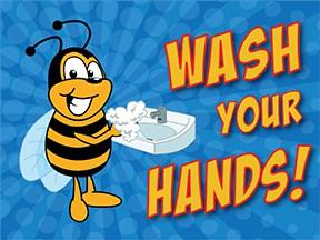 Wash Hands Bee
