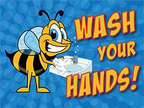 Wash Hands Bee2