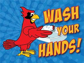 Wash Hands Cardinal