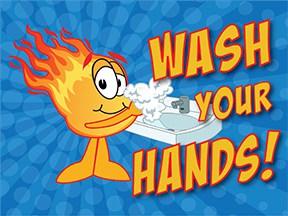 Wash Hands Comet