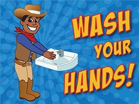 Wash Hands Cowboy