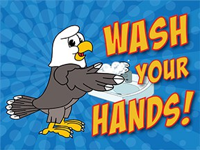Wash Hands Eagle