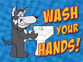 Wash Hands Husky