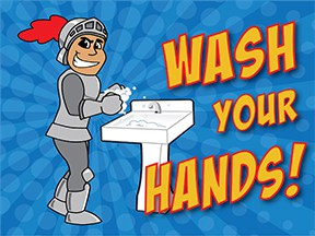 Wash Hands Knight