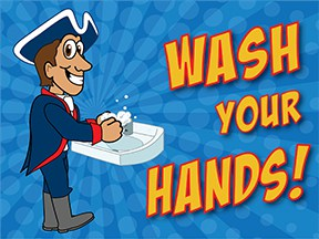 Wash Hands Patriot