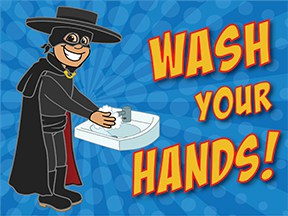 Wash Hands Raider