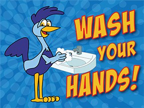 Wash Hands Roadrunner