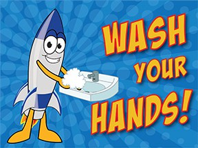 Wash Hands Rocket