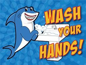 Wash Hands Shark