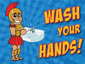 Wash Hands Spartan