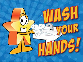 Wash Hands Star
