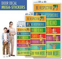 Bathroom Door Decal School Stickers