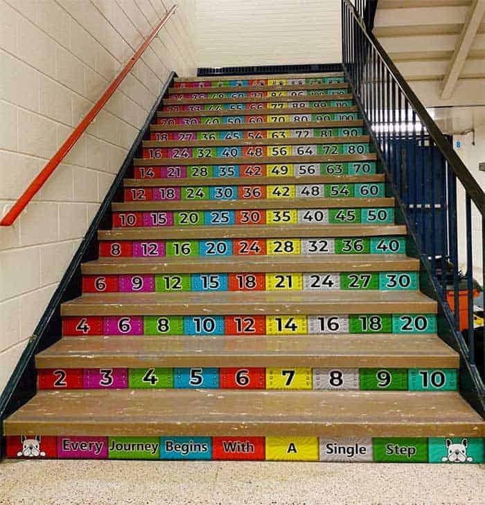 math-stairs