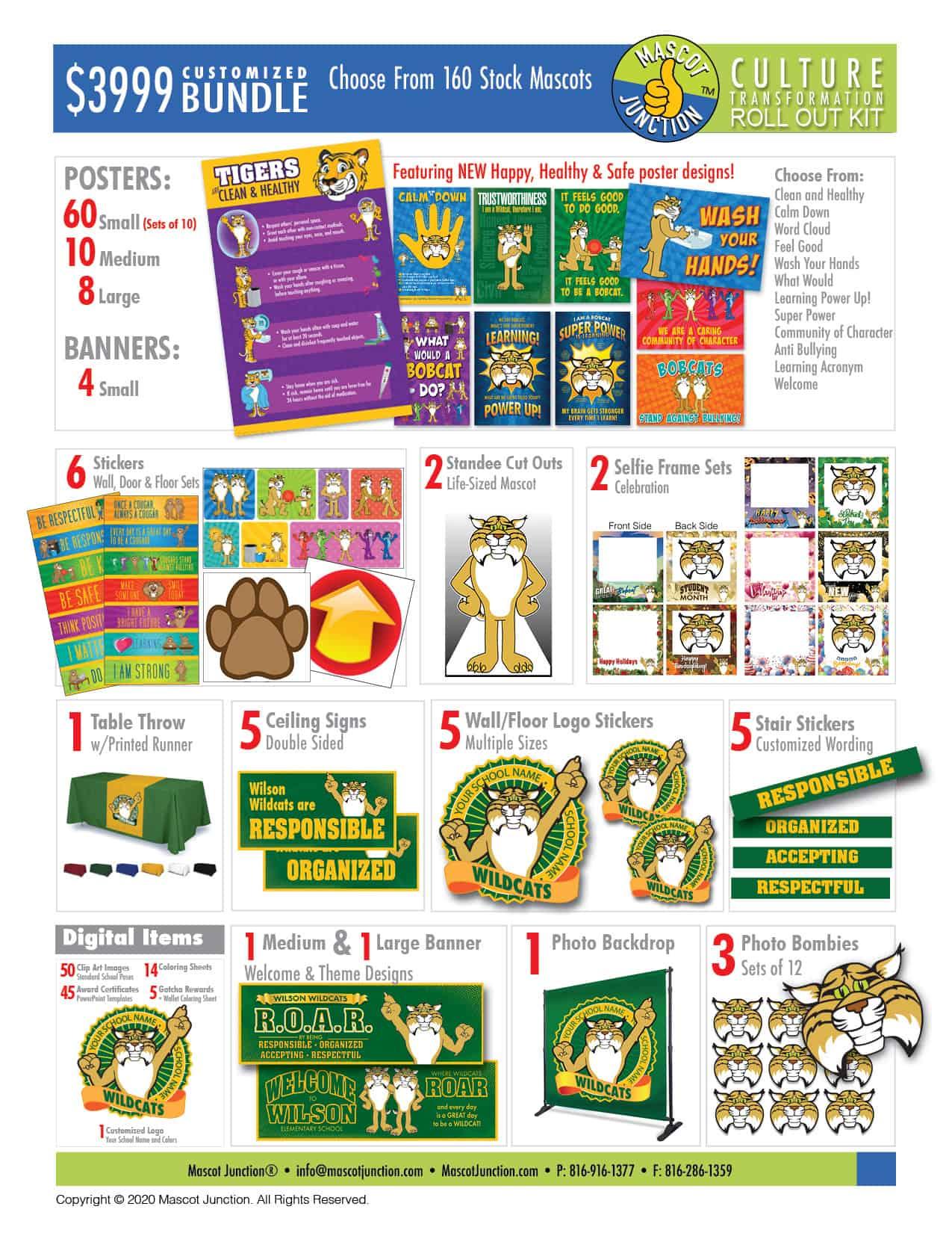 $3999 Customized - Culture Bundle Catalog Page - 2020B
