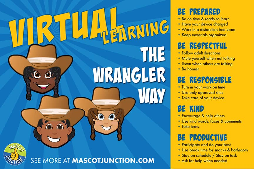 Virtual Learning Poster Wranglers