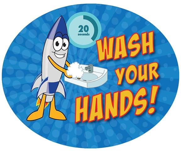 Wash Hands Rocket