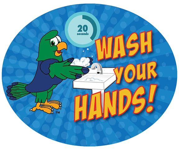 Wash Hands SeaHawk