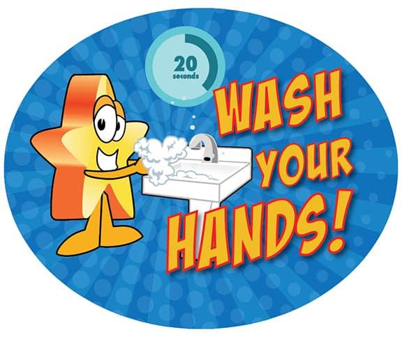 Wash Hands Star