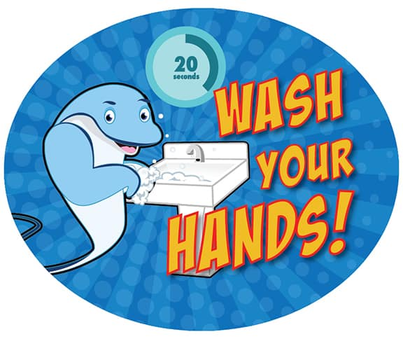 Wash Hands Stingray