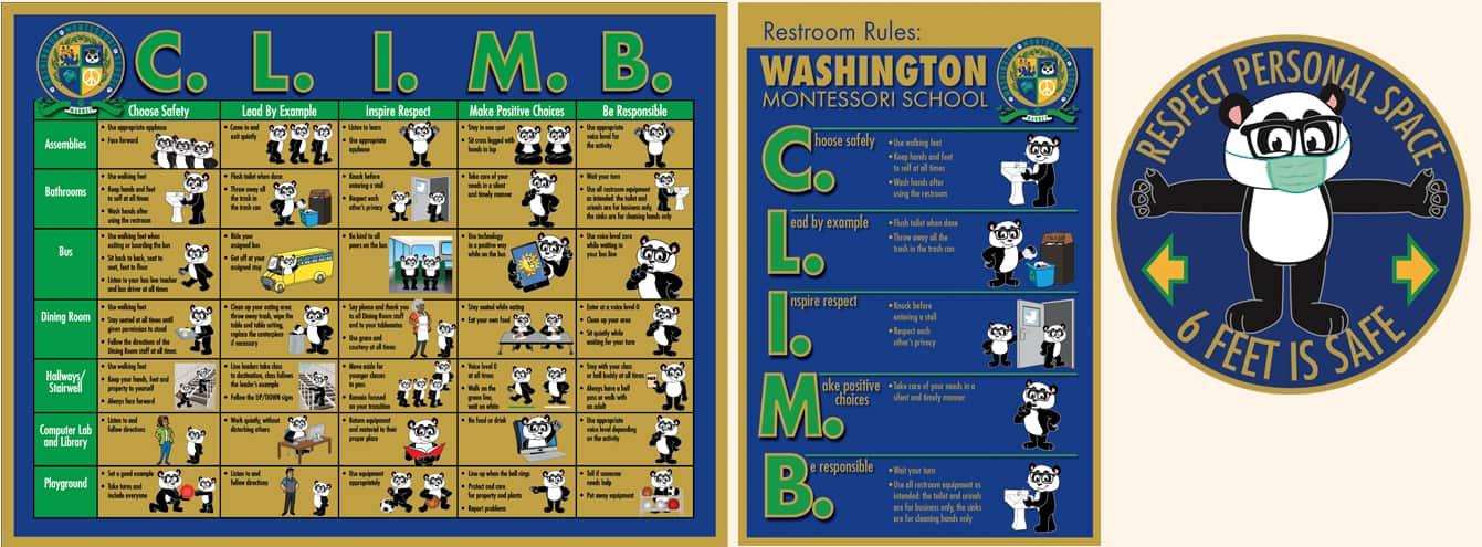 CLIMB Matrix PBIS Poster
