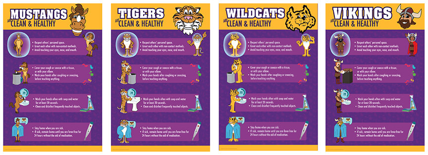 Clean Healthy Safety Guidelines Schools