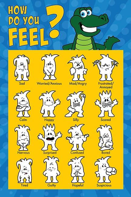 Gator Emotions Poster