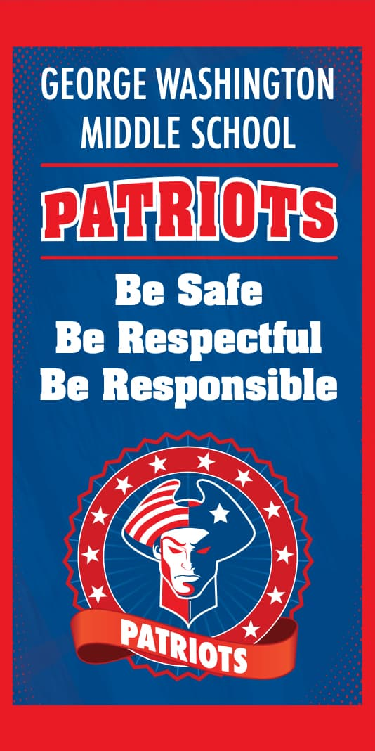 Pole Banner Patriot Theme