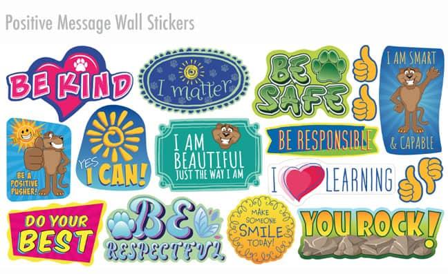 Positive Message Wall Sticker