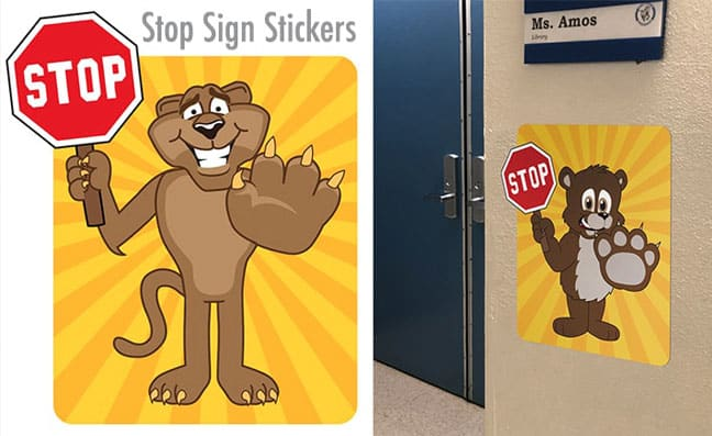 Stop Signs Stickers