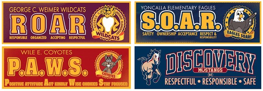 Theme Banners School Acronym